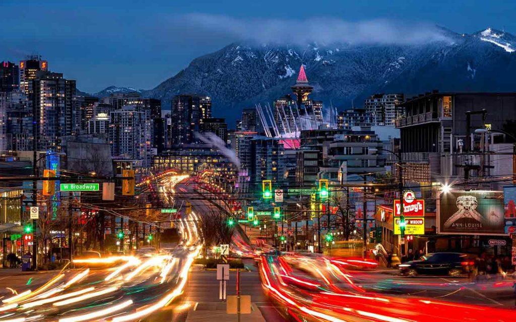 گشت و گذار در شهر ونکوور کانادا